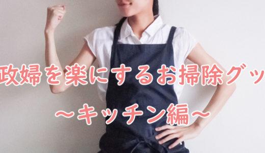 家政婦の仕事を楽にするお掃除グッズ~キッチン編~